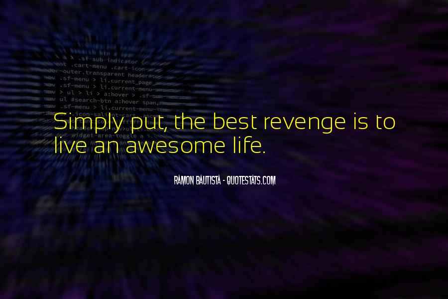Revenge From Love Quotes #256003