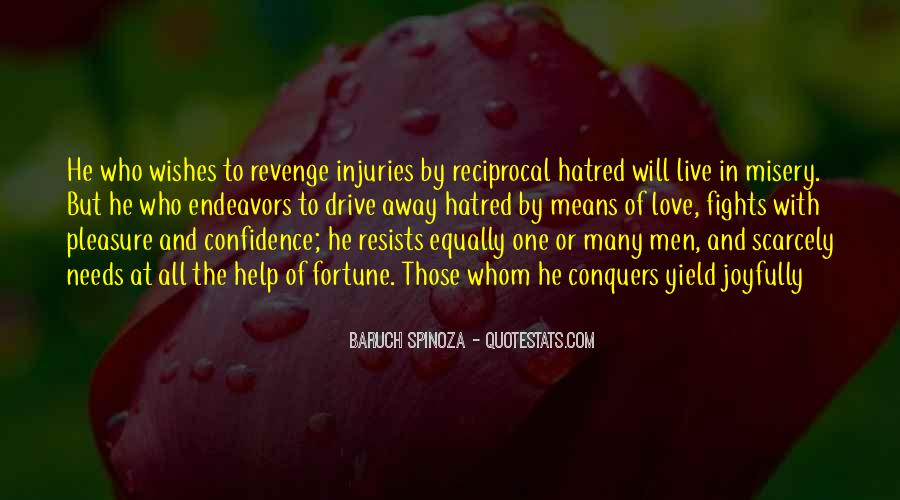 Revenge From Love Quotes #317333