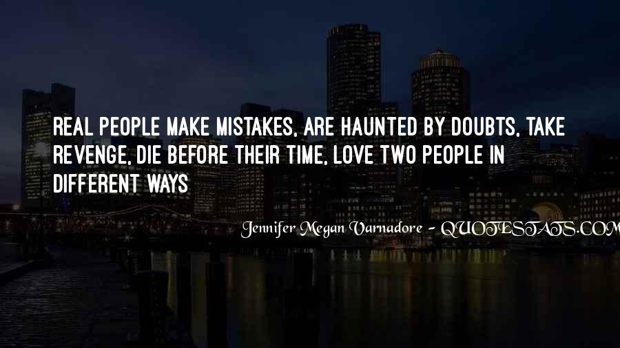 Revenge From Love Quotes #638650