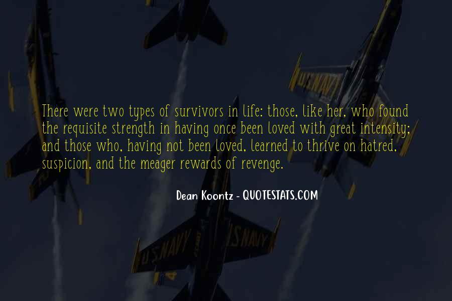 Revenge Suspicion Quotes #672713