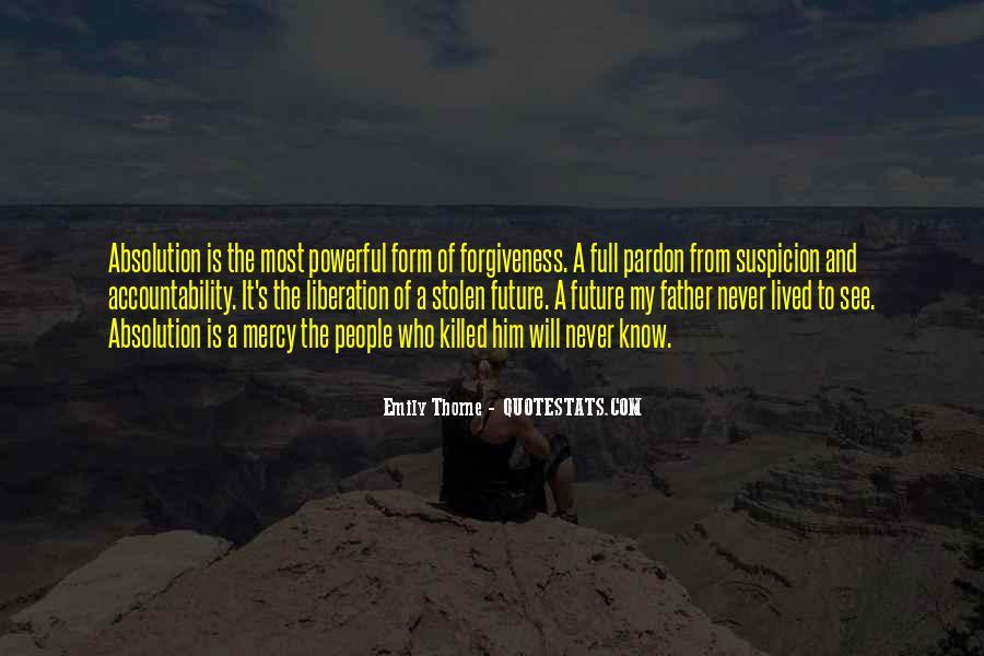 Revenge Suspicion Quotes #708825