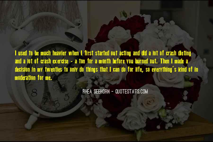 Rhea Quotes #1061104