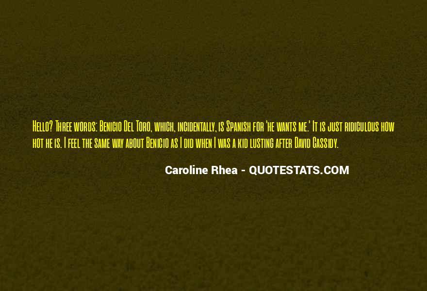 Rhea Quotes #1765000