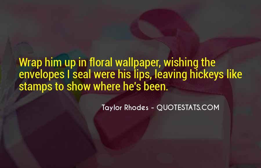 Rhodes Quotes #82782