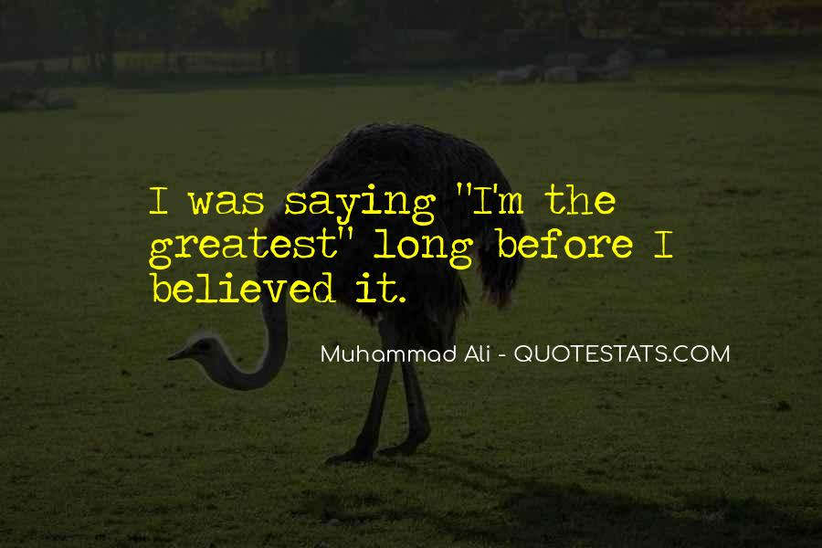 Quotes About Muhammad Ali #171667