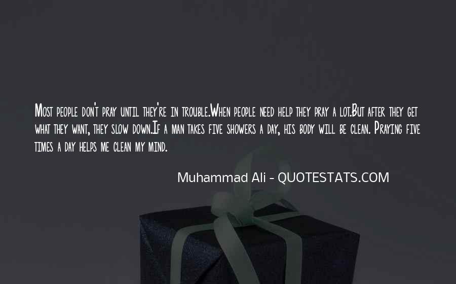 Quotes About Muhammad Ali #204210