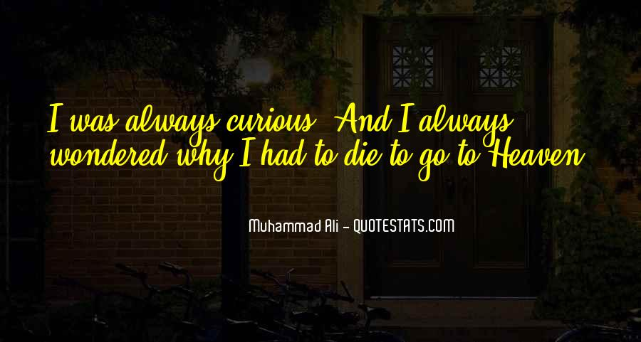 Quotes About Muhammad Ali #22985