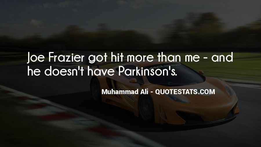Quotes About Muhammad Ali #239016
