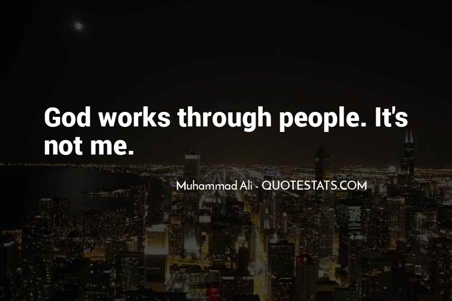Quotes About Muhammad Ali #266218