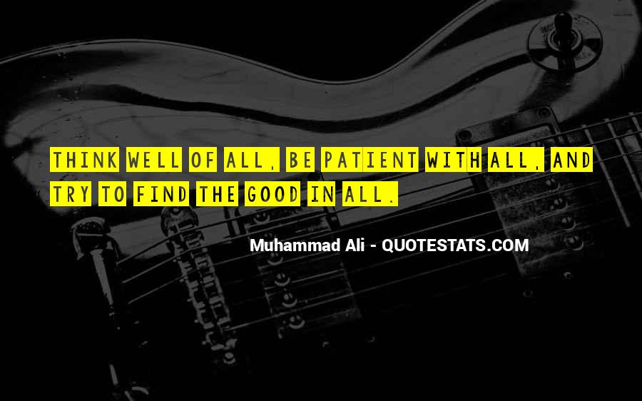 Quotes About Muhammad Ali #289295