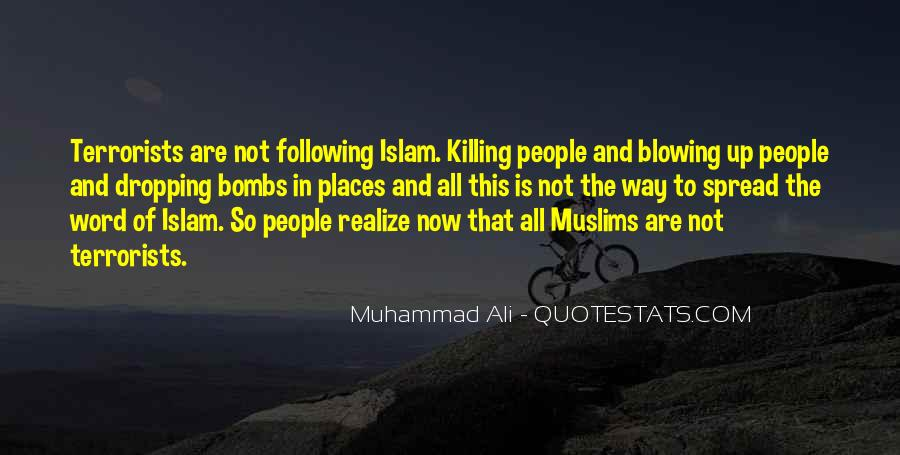 Quotes About Muhammad Ali #317199