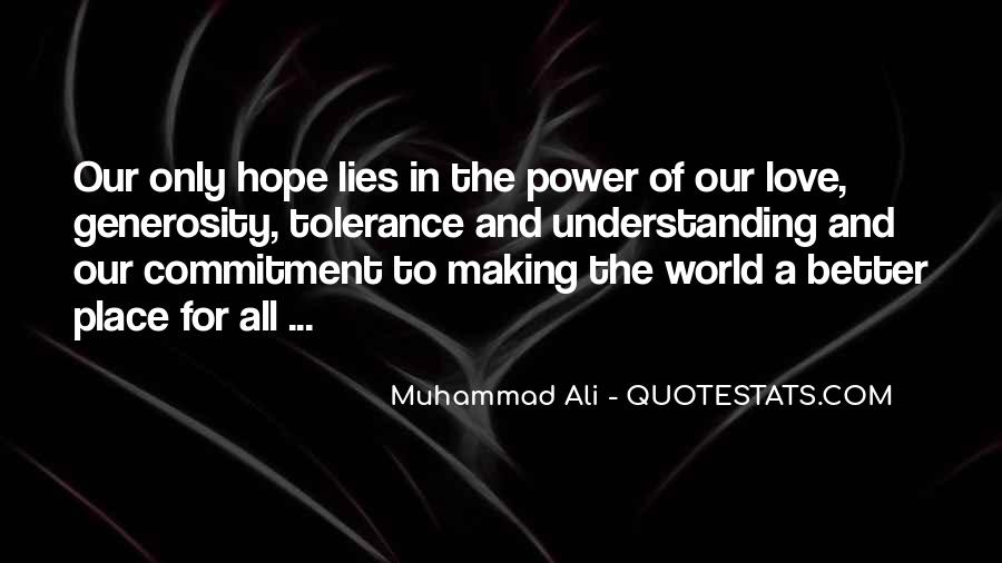 Quotes About Muhammad Ali #317558