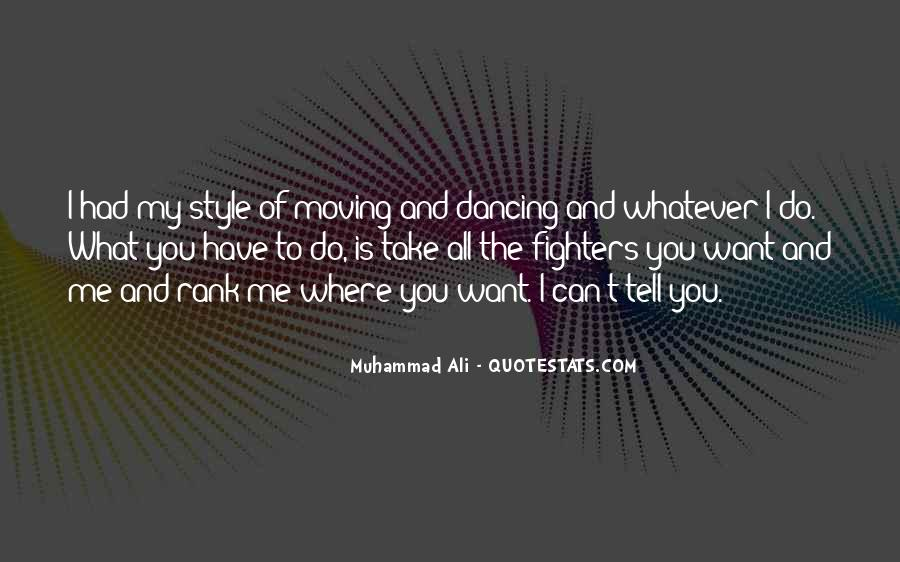 Quotes About Muhammad Ali #99392