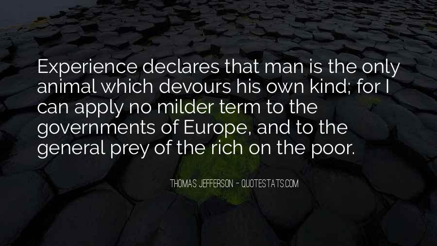 Rich Man Poor Man Quotes #101000