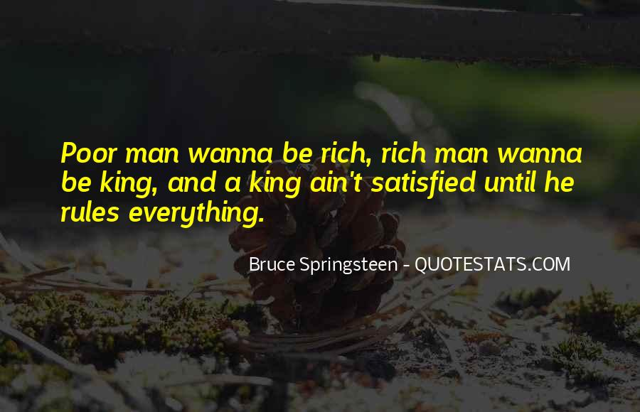 Rich Man Poor Man Quotes #12751