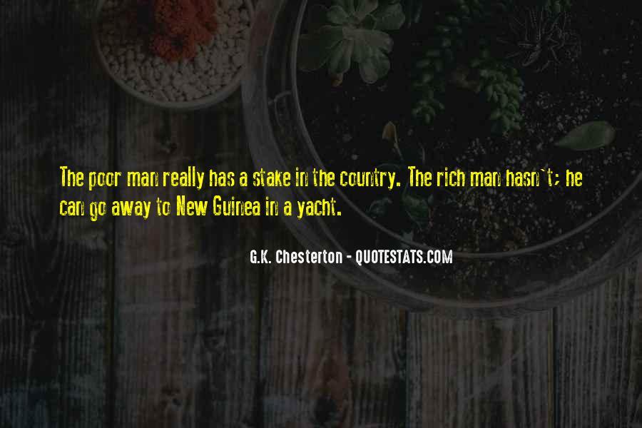 Rich Man Poor Man Quotes #13037