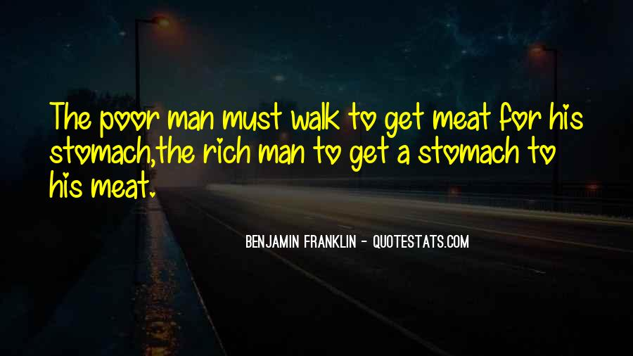 Rich Man Poor Man Quotes #193859