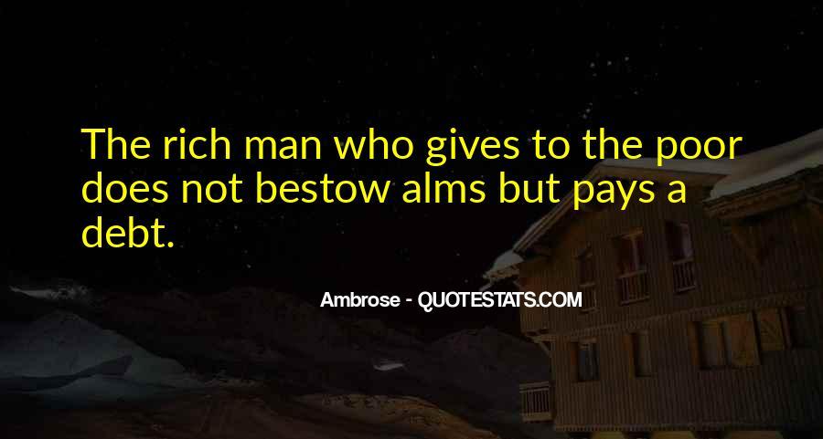 Rich Man Poor Man Quotes #202325