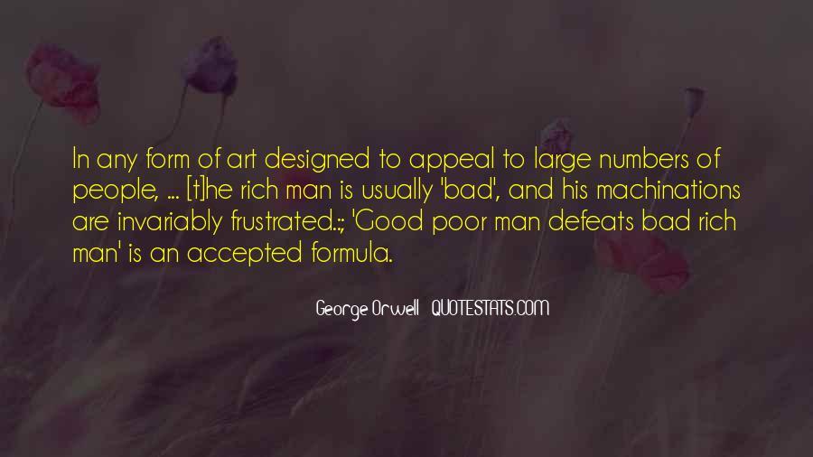 Rich Man Poor Man Quotes #20975