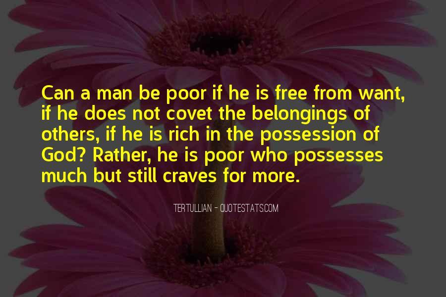 Rich Man Poor Man Quotes #229011