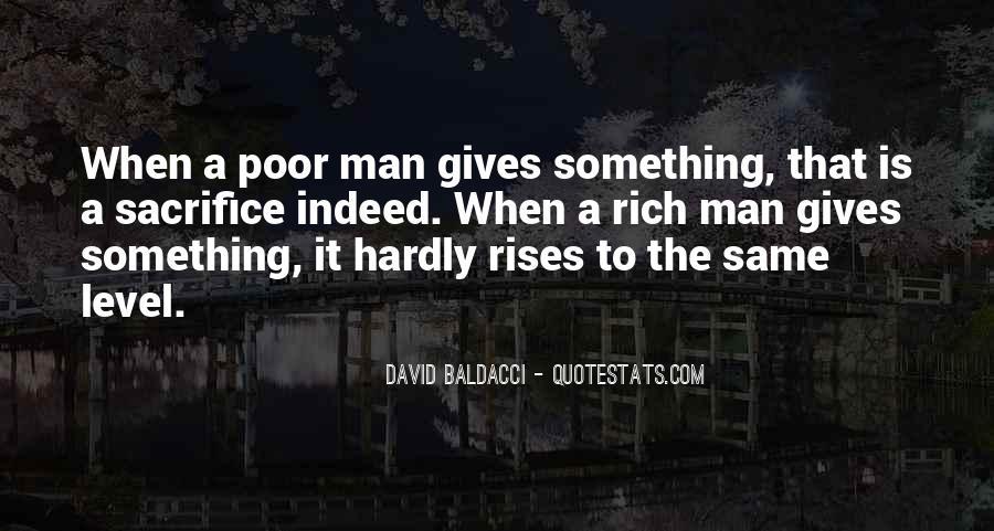 Rich Man Poor Man Quotes #287038