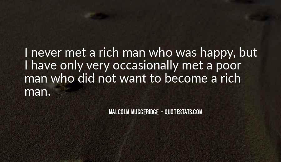 Rich Man Poor Man Quotes #31580