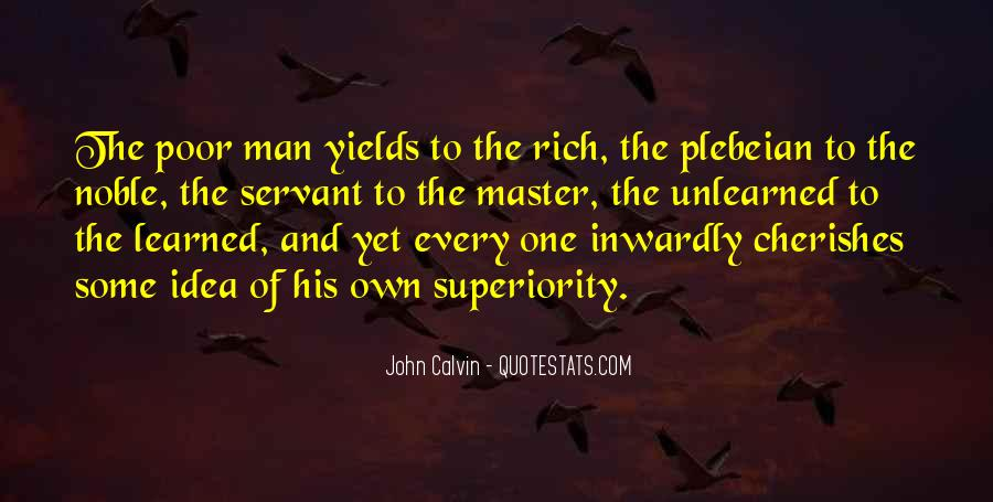 Rich Man Poor Man Quotes #342631