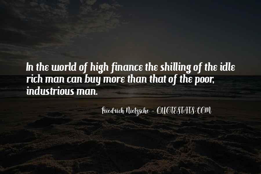 Rich Man Poor Man Quotes #375218