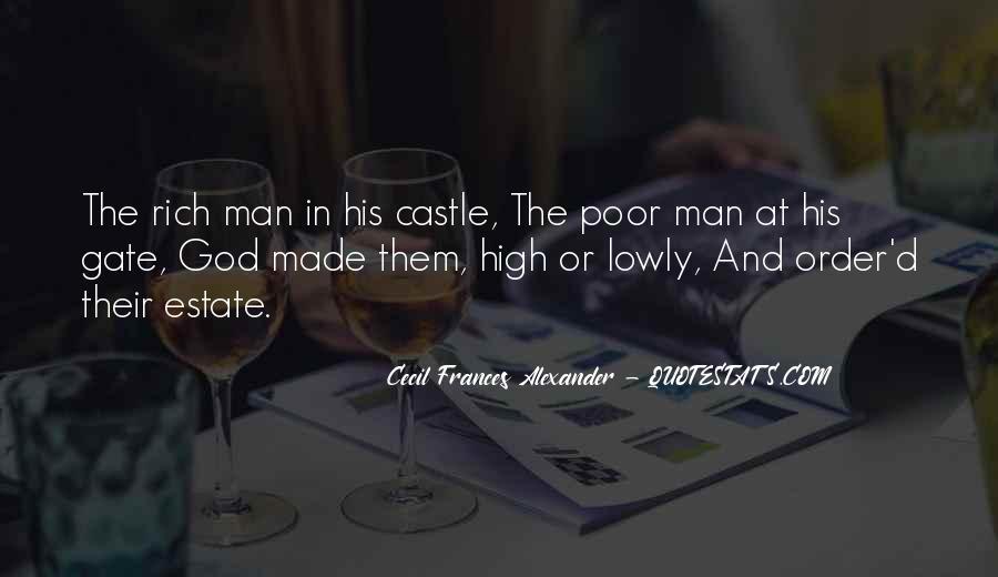 Rich Man Poor Man Quotes #392546