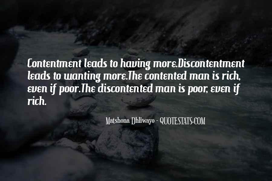 Rich Man Poor Man Quotes #475594