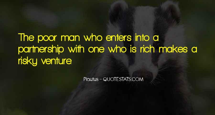 Rich Man Poor Man Quotes #581637