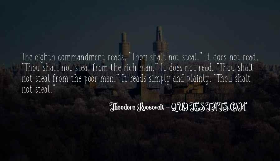 Rich Man Poor Man Quotes #611360