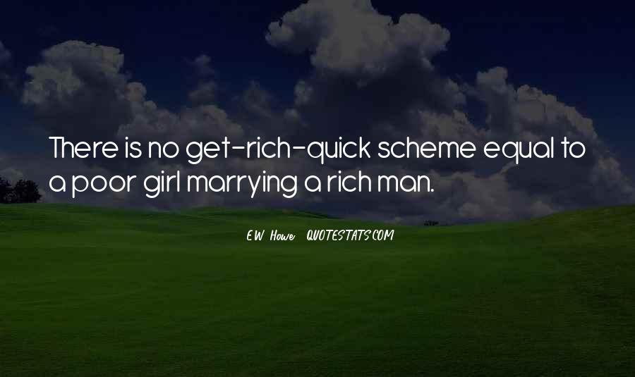 Rich Man Poor Man Quotes #67996
