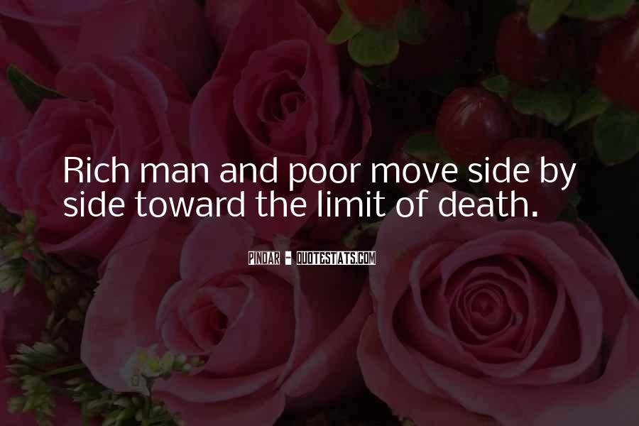 Rich Man Poor Man Quotes #70048