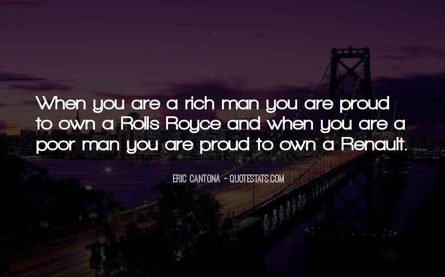 Rich Man Poor Man Quotes #710428