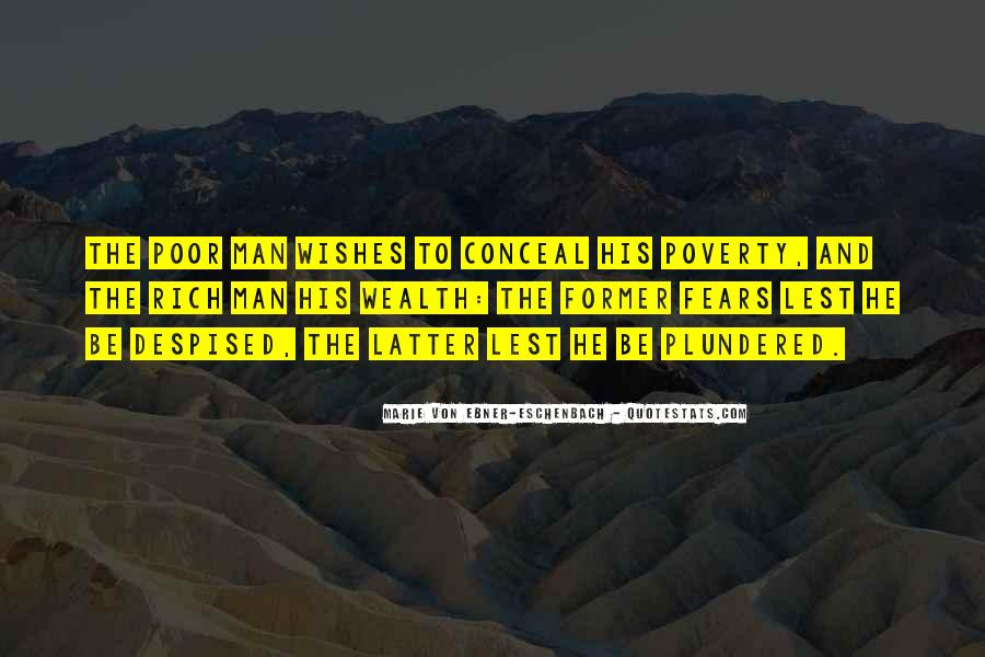 Rich Man Poor Man Quotes #732533