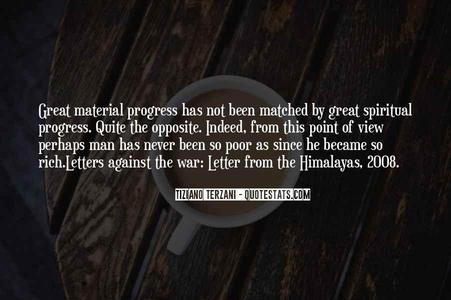 Rich Man Poor Man Quotes #774074