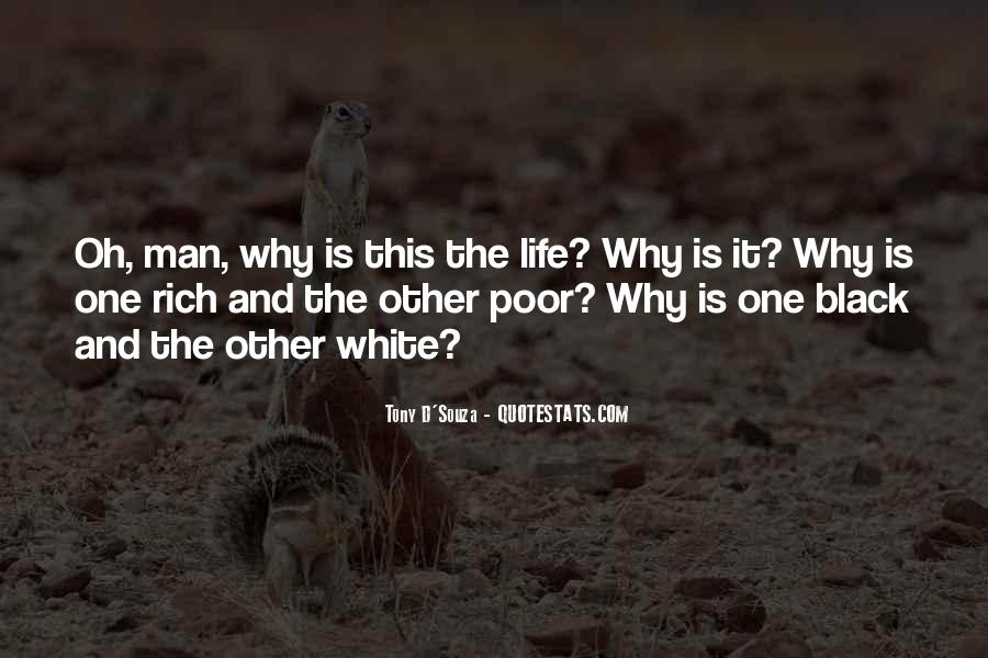Rich Man Poor Man Quotes #839306