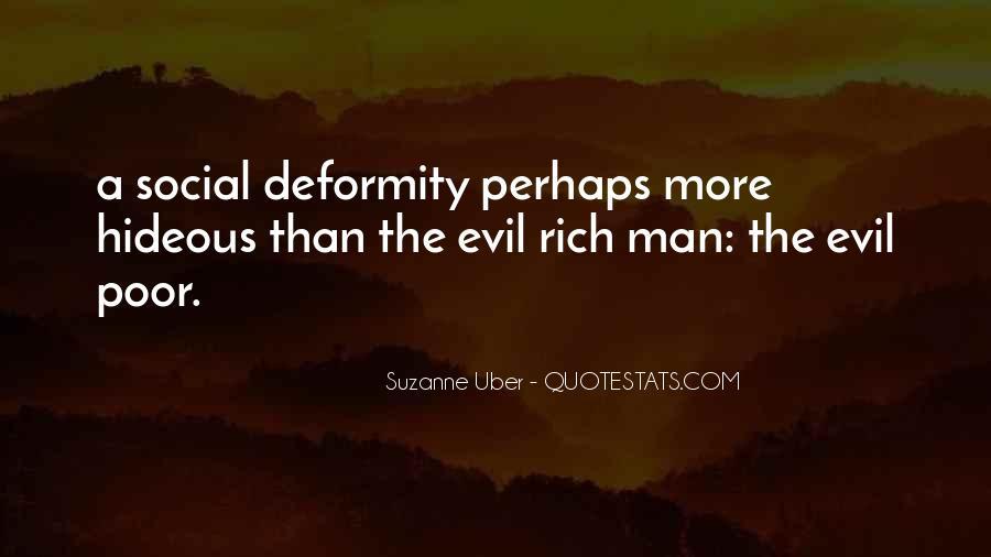 Rich Man Poor Man Quotes #853240