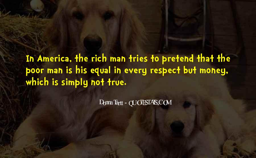 Rich Man Poor Man Quotes #875641