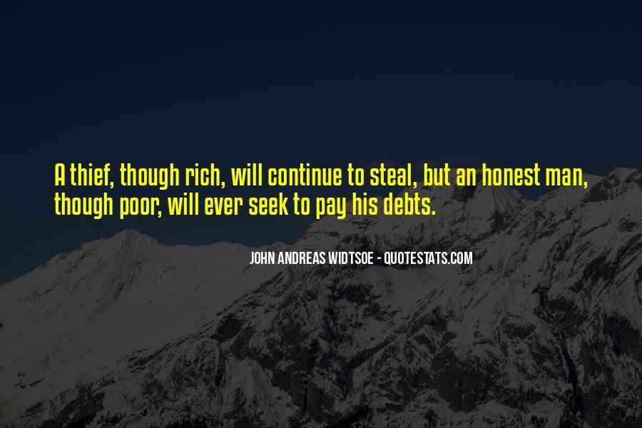 Rich Man Poor Man Quotes #904225