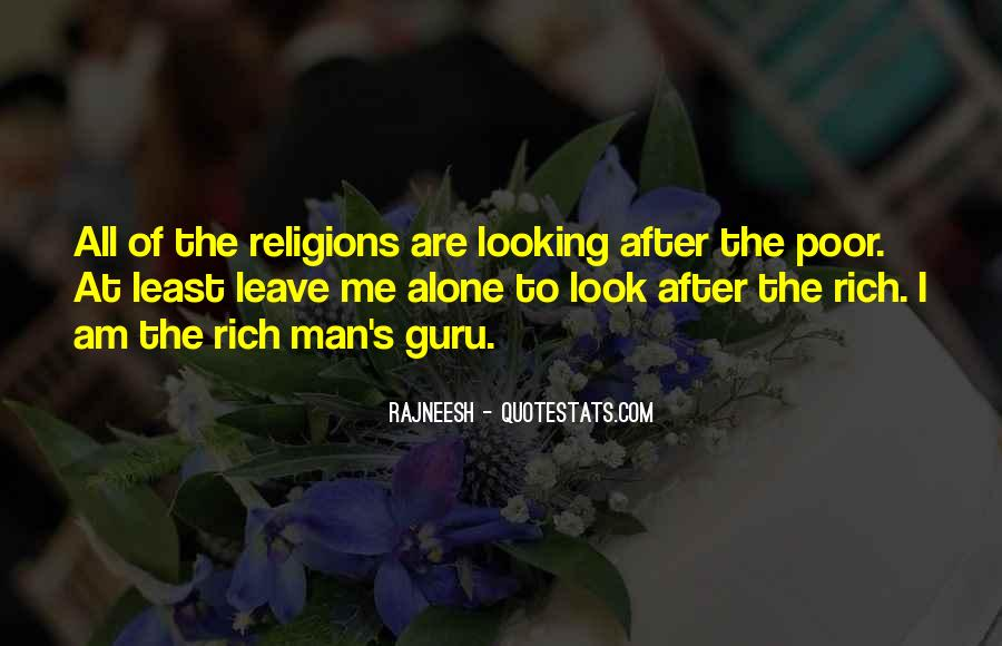Rich Man Poor Man Quotes #913479