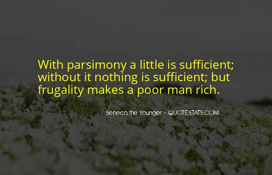Rich Man Poor Man Quotes #934797