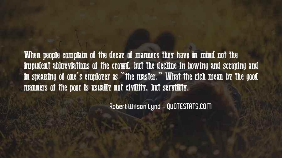 Rich Man Poor Man Quotes #9370