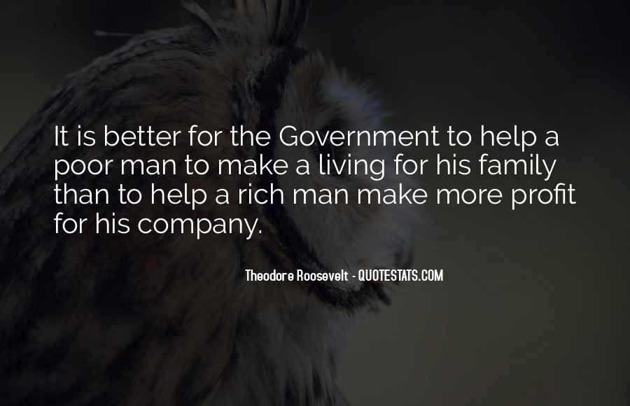 Rich Man Poor Man Quotes #96898