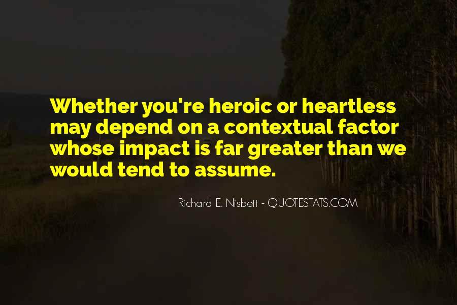 Richard Nisbett Quotes #999761