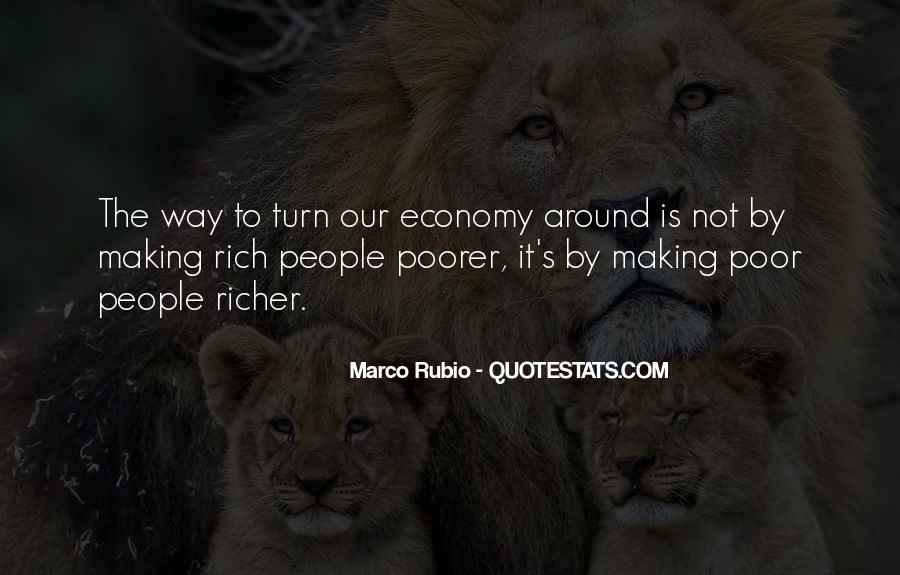 Richer Or Poorer Quotes #210573