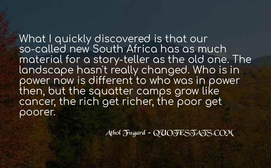 Richer Or Poorer Quotes #607685