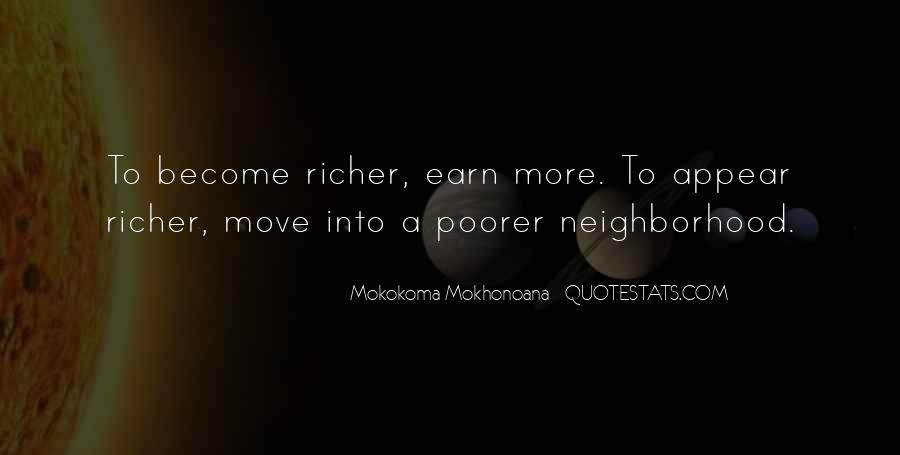 Richer Or Poorer Quotes #737703