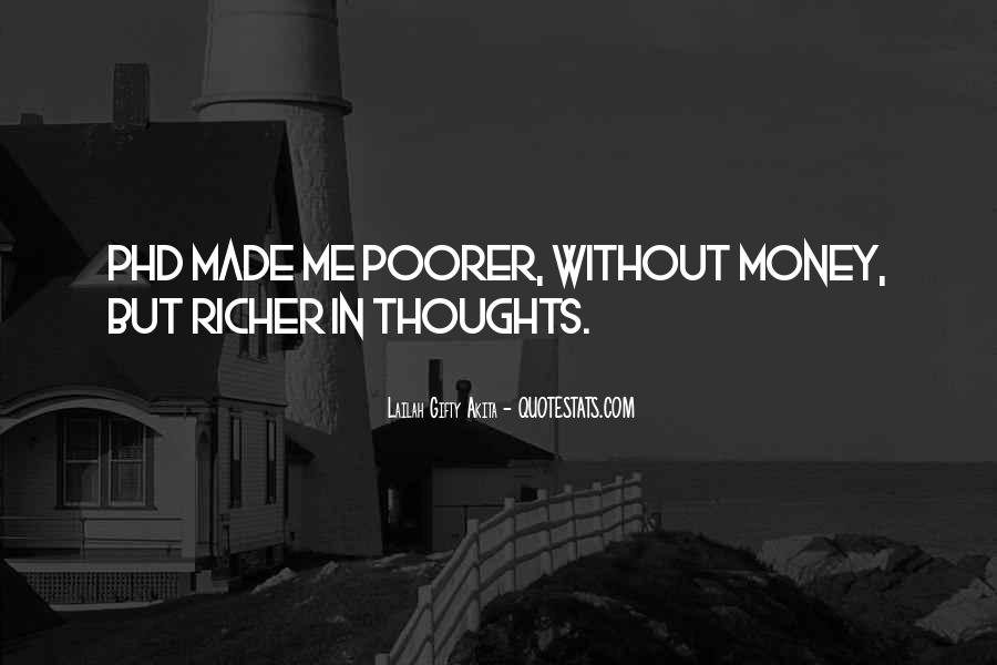 Richer Or Poorer Quotes #821467